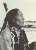 Native American Indian leader