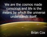 Brian Cox cosmos consciousness universe life