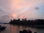 sunset sky ubin