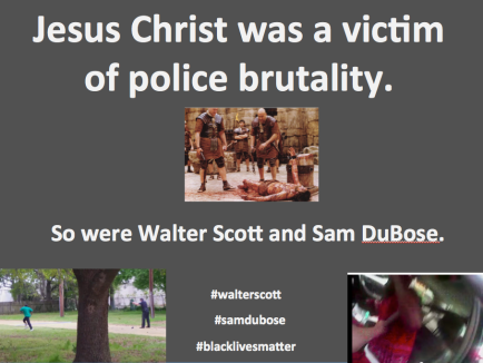Jesus Christ - victim of police brutality 2