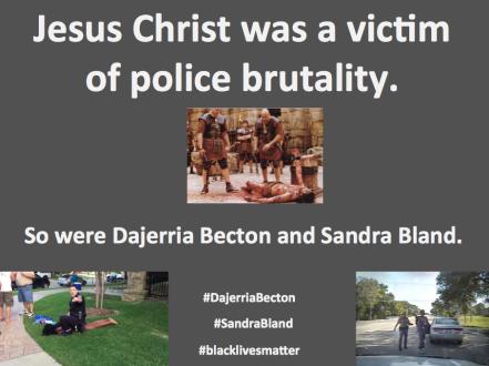 Jesus Christ - victim of police brutality 3